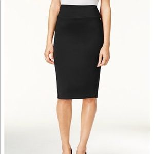 Lord and Taylor black pencil skirt size 2